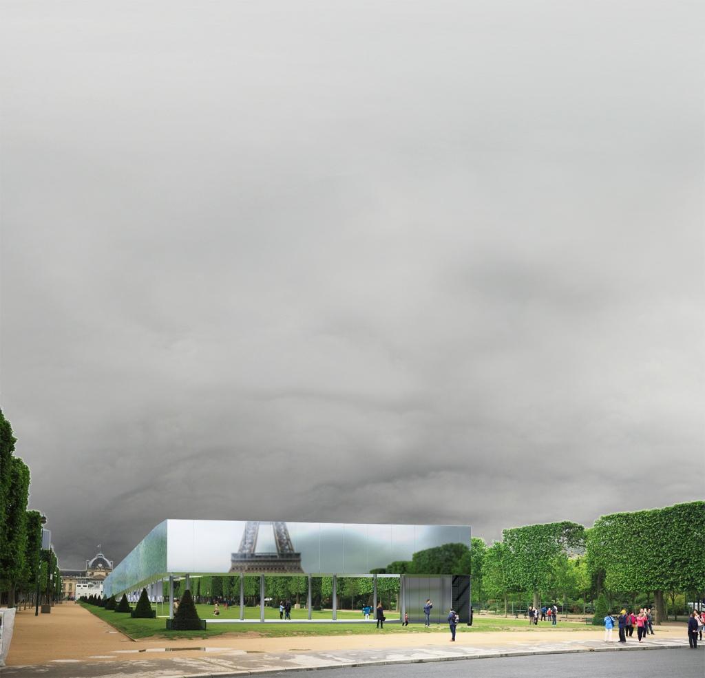 Perpective, 3D, Archasm, architecture, award, Paris, competition, champs de mars, tour eiffel