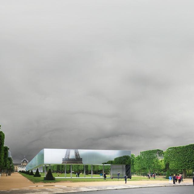 Concours d'architecture Archasm, Champs de Mars, Paris
